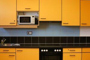 Wykończenie mebli kuchennych